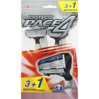 Станки DORCO однораз. PACE 4 (3+1ст-4лез.) плавающ.головка пакет