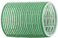 Бигуди липучка  R-VTR.1  зелен. 48мм, 12шт.