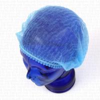 Шапочка-шарлотта голубая (спанбонд)