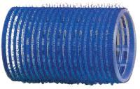 Бигуди липучка  R-VTR.3  синие 40мм,12шт.