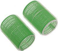 Бигуди липучка  R-VTR16  зеленые 61мм, 6шт.
