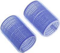 Бигуди липучка  R-VTR19 синие 78мм, 6шт.