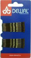 Невидимки SLN50V-3/24 коричневые 24шт