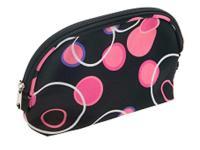 Косметичка BG-901 Розовые круги 14,5*22см