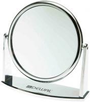 Зеркало MR425 настольное серебро   18*18,5см